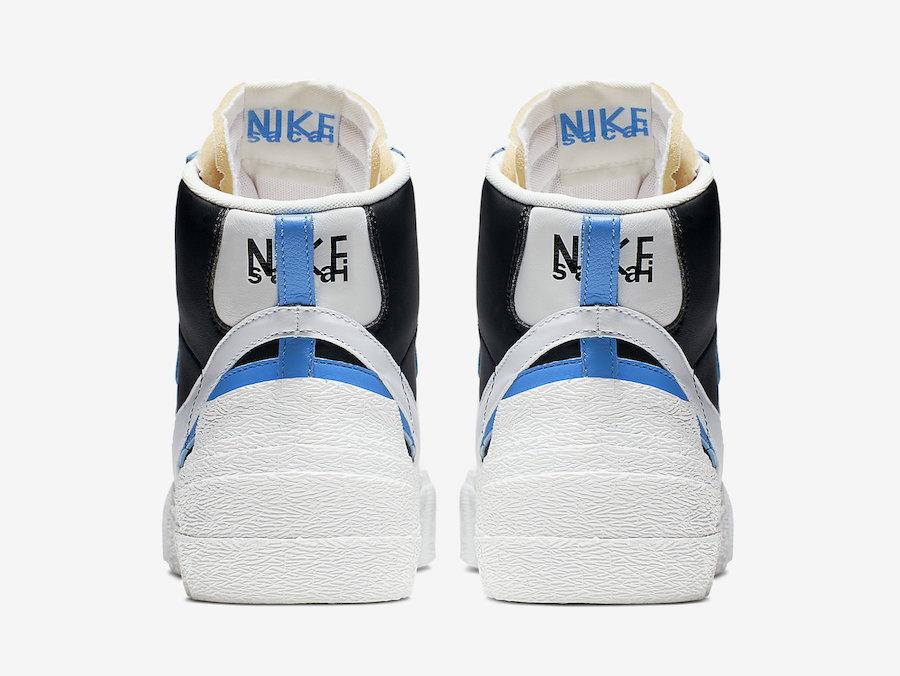 Sacai Nike Blazer High BV0072-001 Release Date Price