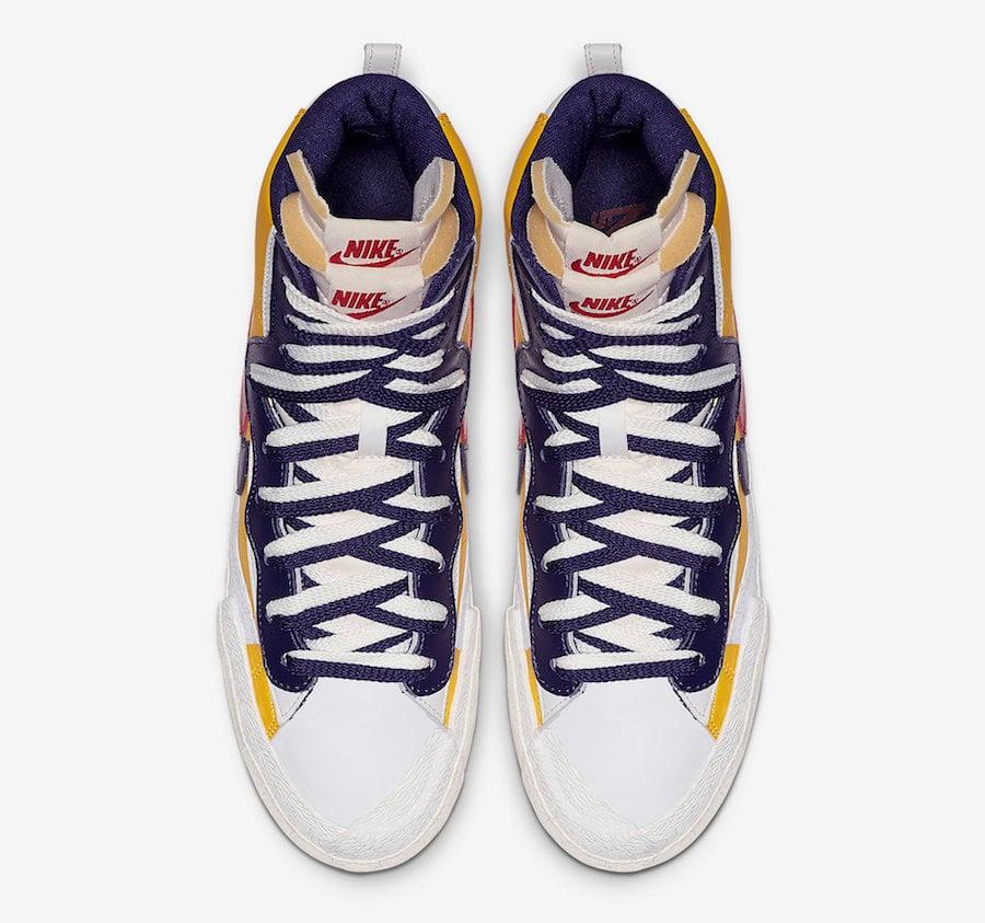 Sacai Nike Blazer High BV0072-700 Release Date Price