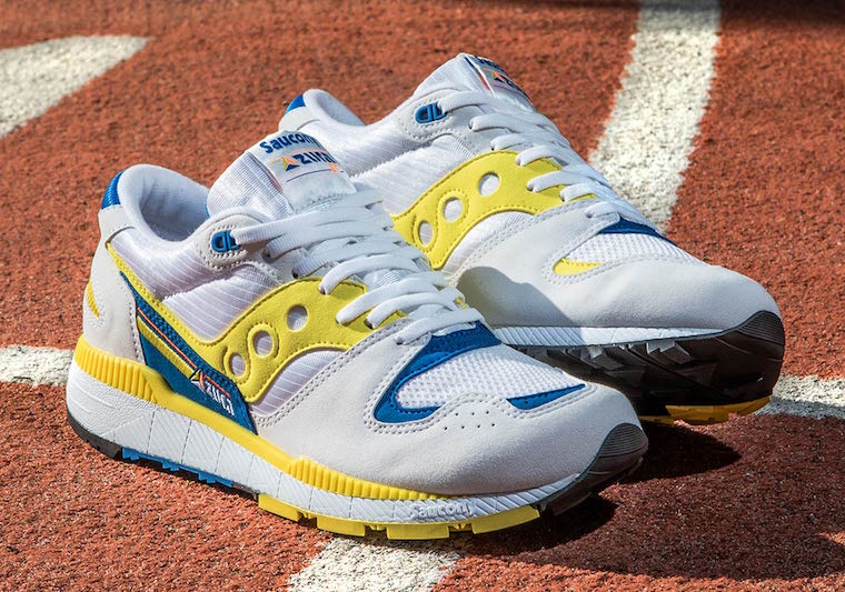 Saucony Azura White Yellow Blue Release Date