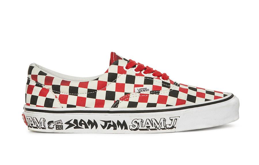 Slam Jam Vans Era Release Date