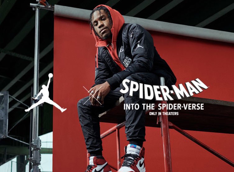 00c69f7cf036 Air Jordan 1 Origin Story Spider-Verse 555088-602 Release Date ...