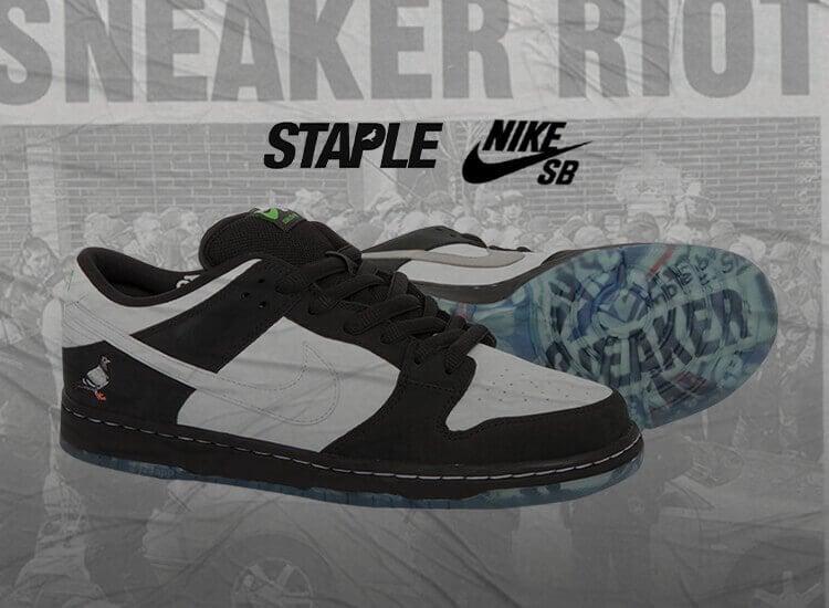 Staple Nike SB Dunk Low Pro OG Panda Pigeon BV1310-013