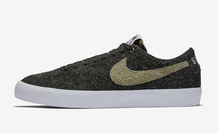 Stussy Nike SB Blazer Low BQ6449-001 Release Date