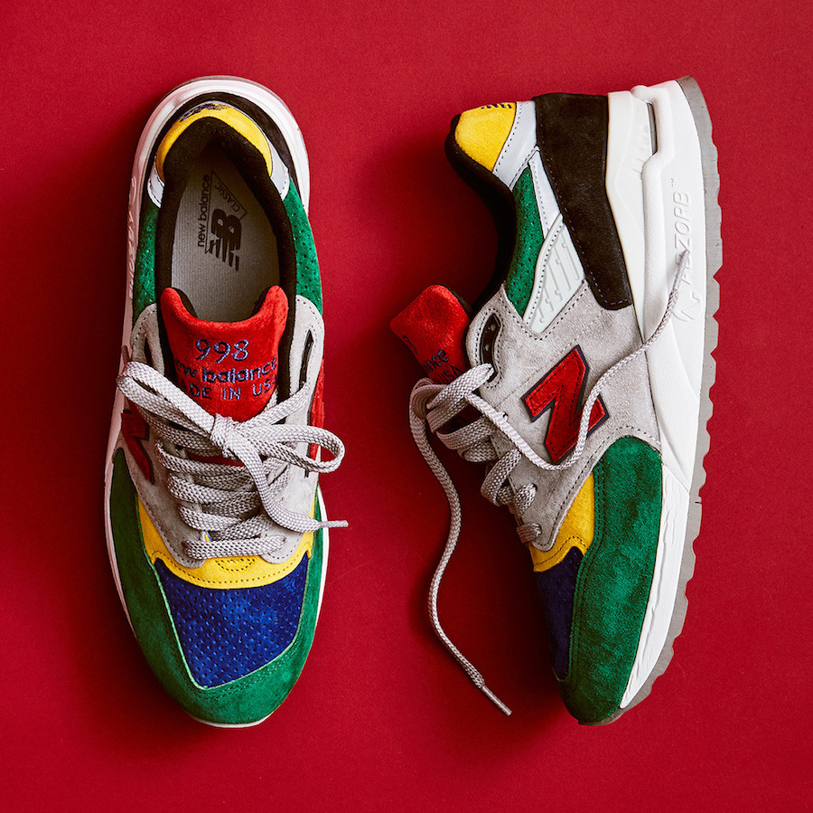 Todd Snyder New Balance 998 Color Spectrum