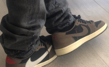Travis Scott Air Jordan 1 Low Dark Mocha
