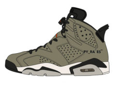 Travis Scott Air Jordan 6 Medium Olive Release Date