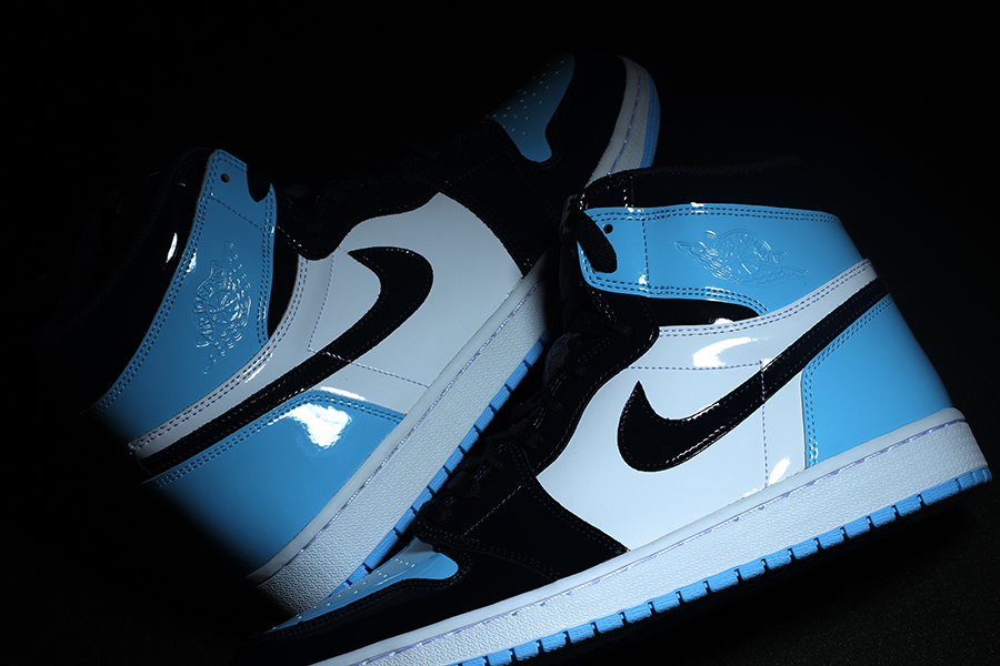 Air Jordan 1 Unc Patent Leather Cd0461 401 Release Date Sneakerfiles