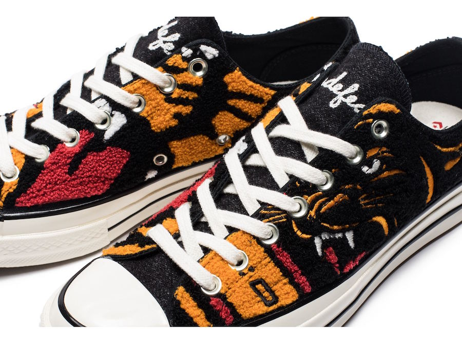 Undefeated Converse Chuck 70 Ox Release Date