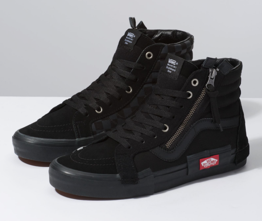Vans SK8-Hi Reissue Decon Cap Black