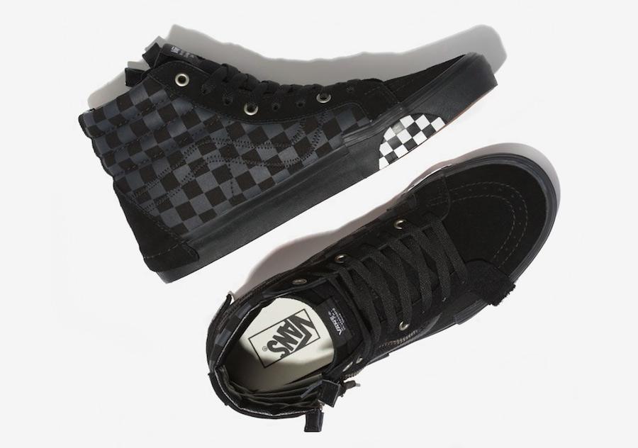 2720ccdc2596b9 Vans SK8-Hi Reissue Decon Cap Black