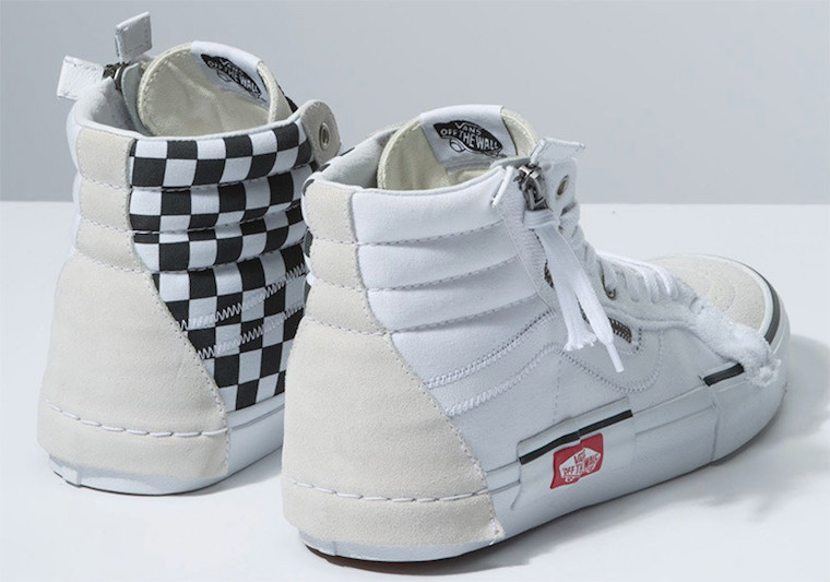 Vans SK8-Hi Reissue Deconstructed White Black