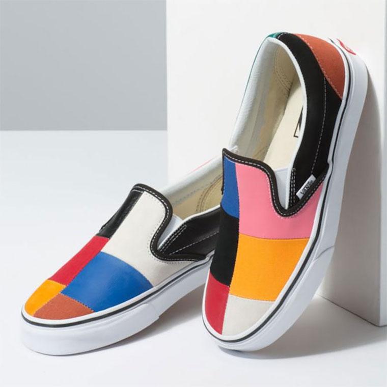 Vans Slip-On Patchwork Multi-Color