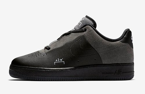 A-Cold-Wall Nike Air Force 1 Black BQ6924-001