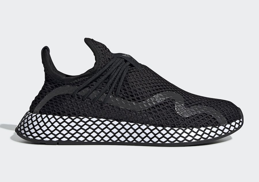 adidas Deerupt S Black White BD7879 Release Date