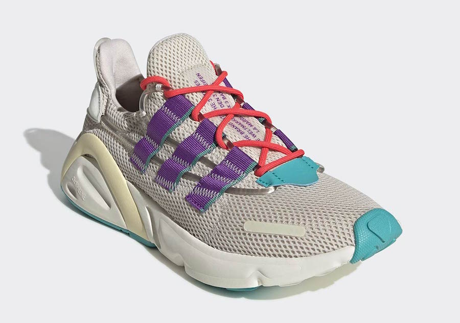 adidas LXCON Purple Teal EE7403 Release Date