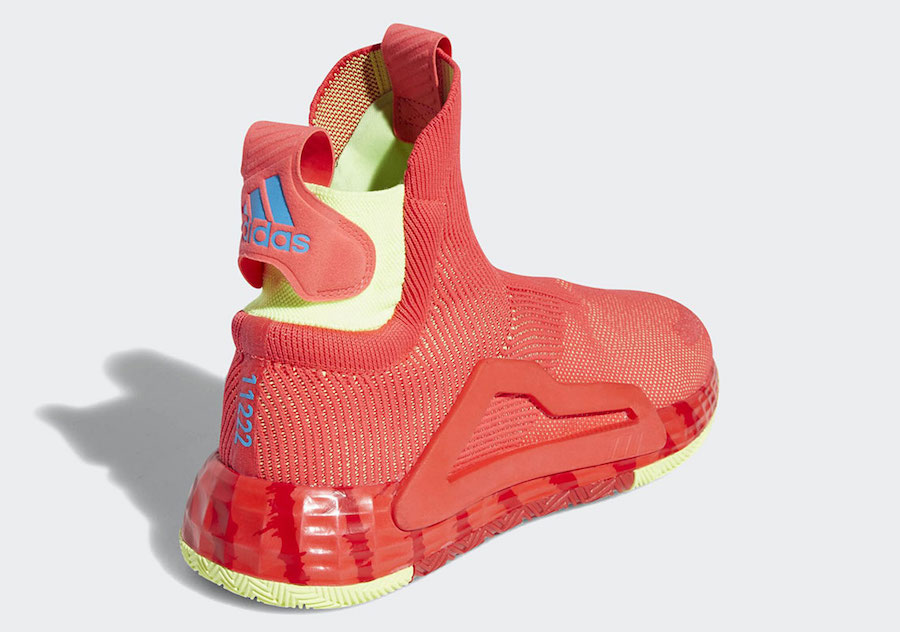 adidas N3XT L3V3L Shock Red G27761 Release Date