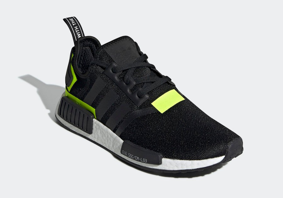 adidas NMD R1 Black Volt BD7751 Release Date | SneakerFiles