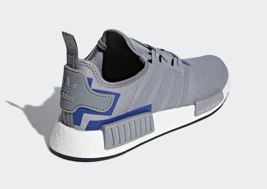 adidas NMD R1 Grey Blue BD7742 Release Date