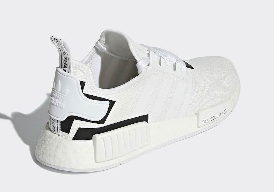 adidas NMD R1 White Black BD7741