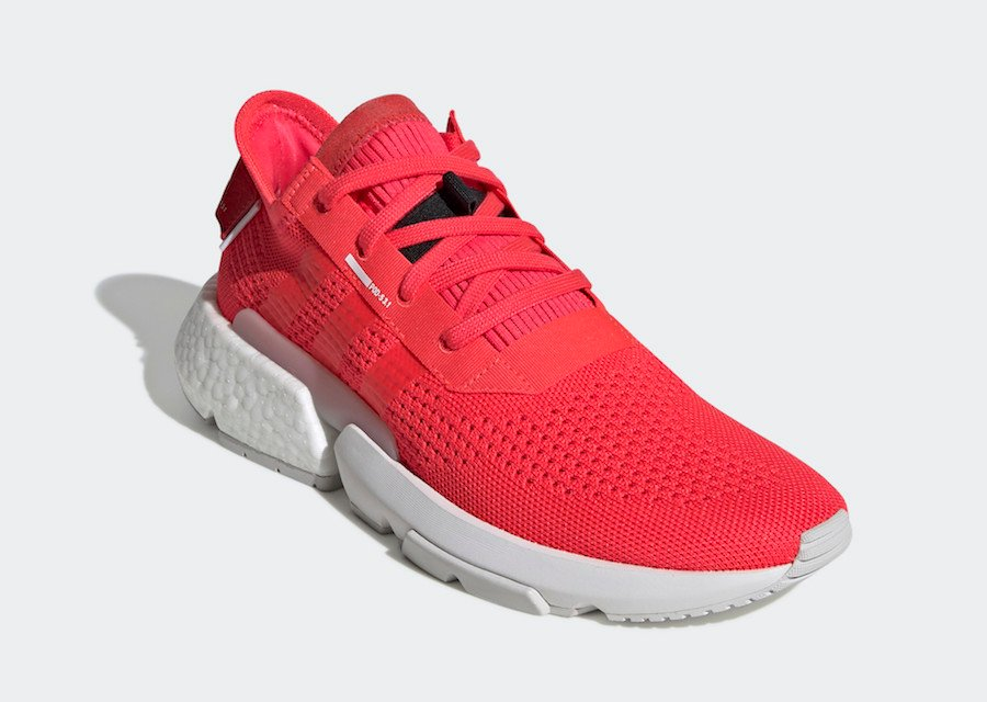 adidas POD S3.1 Shock Red Release Date