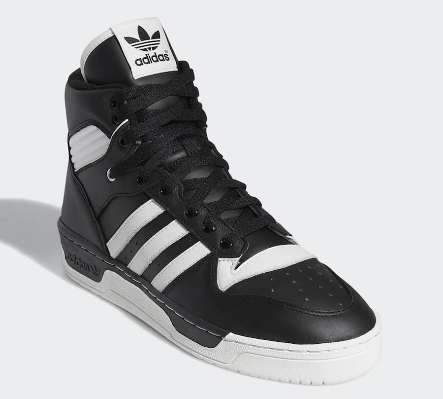 adidas Rivalry Hi Black White BD8021 Release Date