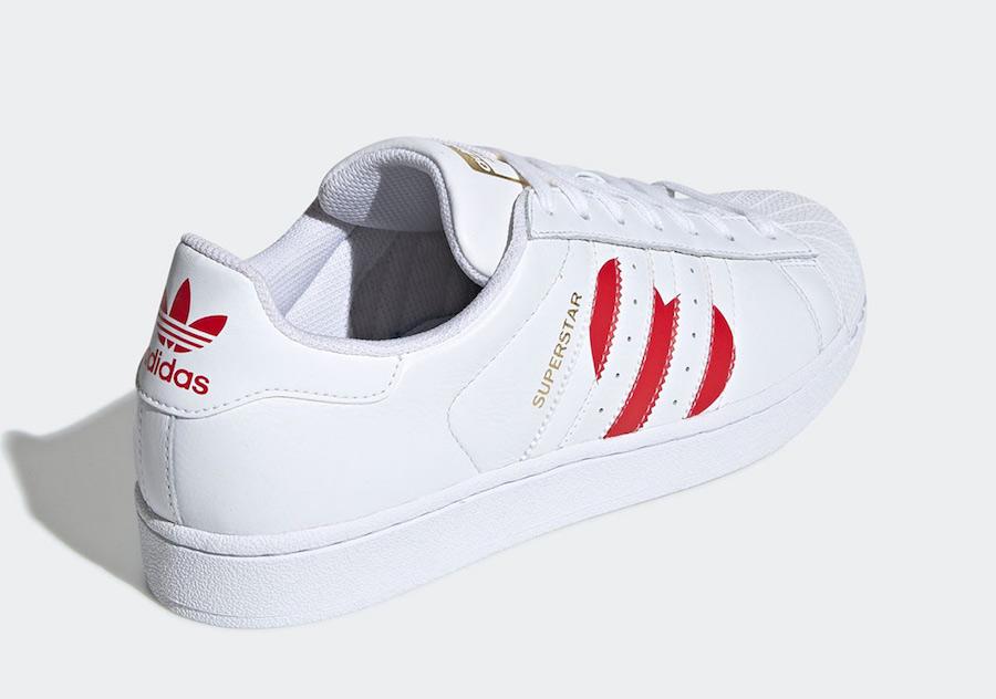 adidas Superstar Valentines Day EG3396 Release Date