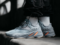 adidas Yeezy Boost 700 Inertia On Feet