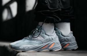 adidas Yeezy Boost 700 Inertia On Feet