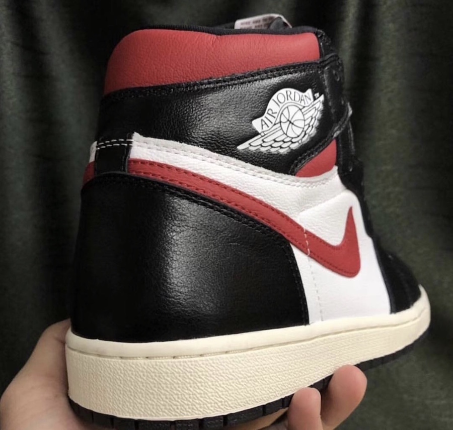 Air Jordan 1 Black White Gym Red 555088-061 Release Date
