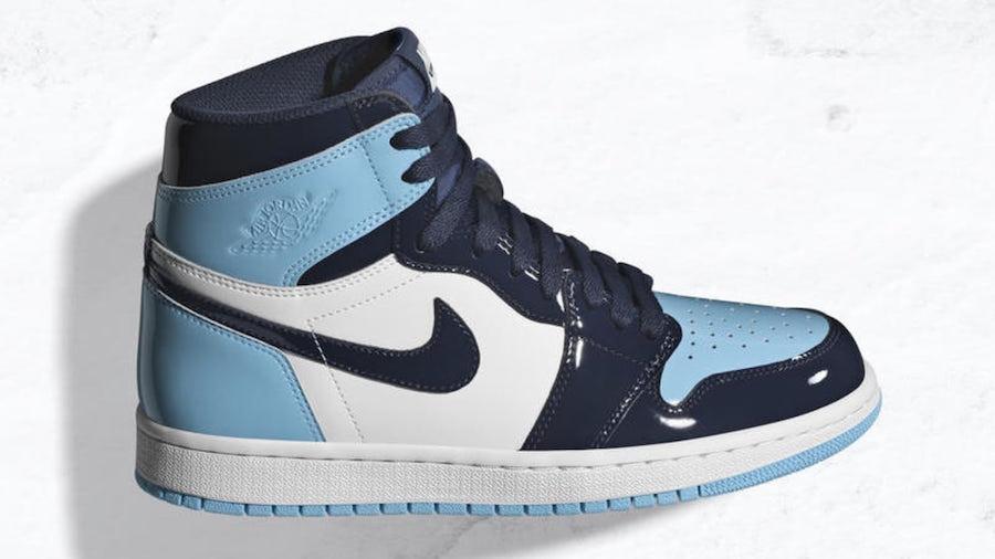 Air Jordan 1 Blue Chill Womens