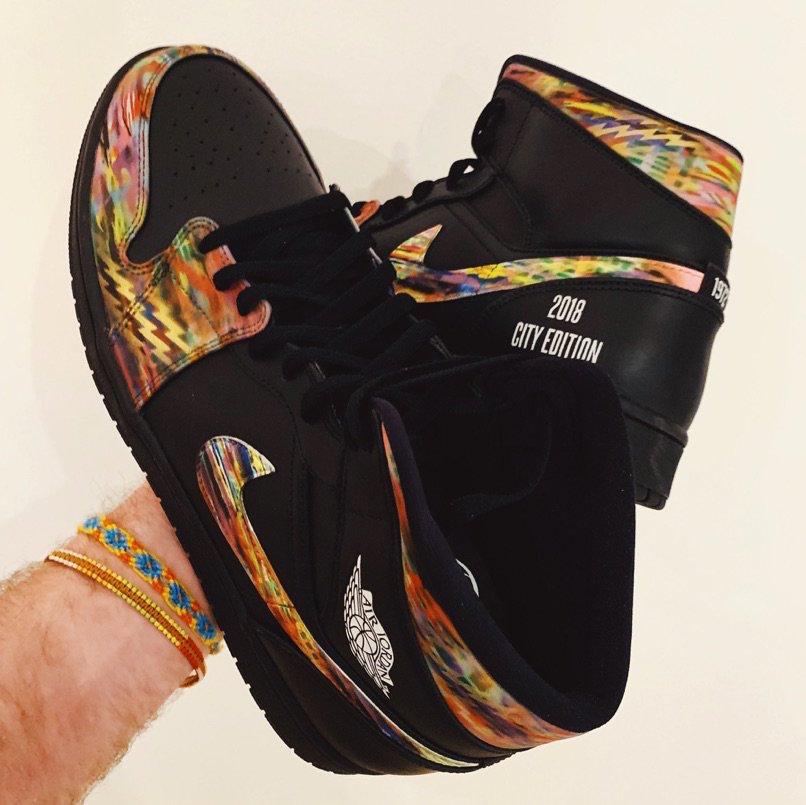 Air Jordan 1 Brooklyn Nets 2018 City Edition