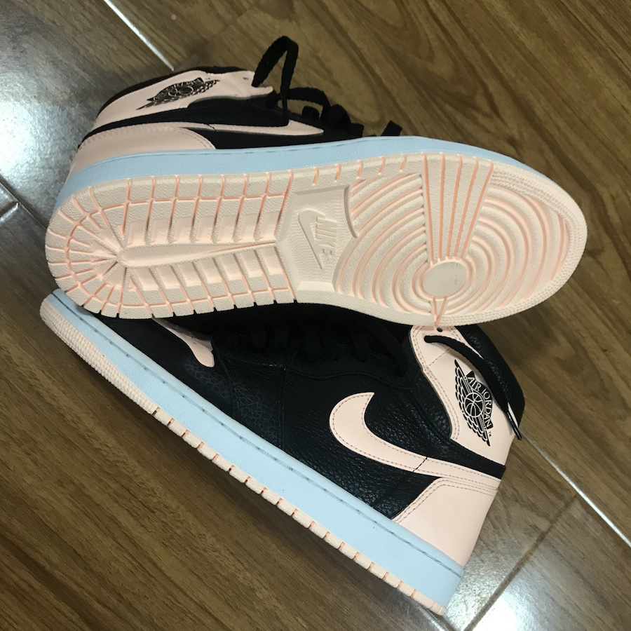 Air Jordan 1 Crimson Tint Pink Toe 555088-081 Release Date Price