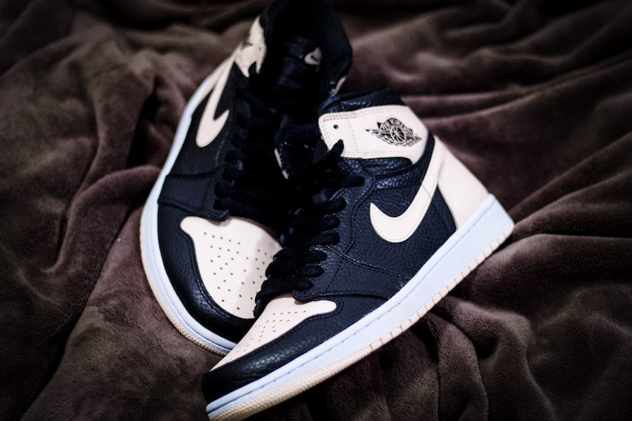 Air Jordan 1 High OG Crimson Tint Pink Toe 555088-081 Release Date Info