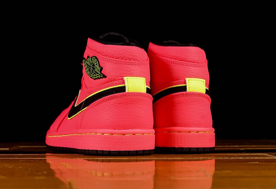 Air Jordan 1 High Premium Hot Punch AQ9131-600 Release Date