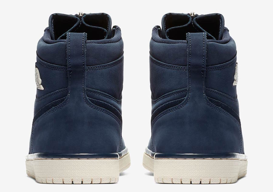 Air Jordan 1 High Zip Navy Suede AQ3742-404 Release Date