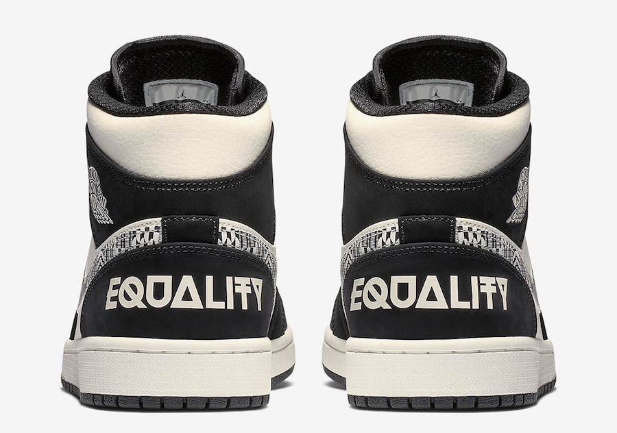 Air Jordan 1 Mid Equality 852542-010 Release Date