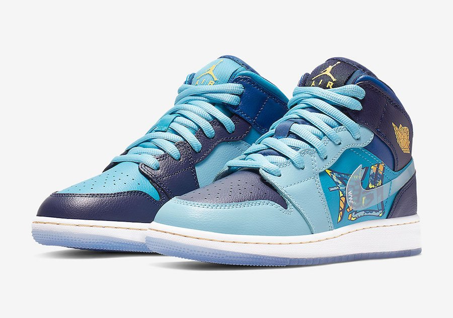 Air Jordan 1 Mid Fly BV7446-400 Release Date Price