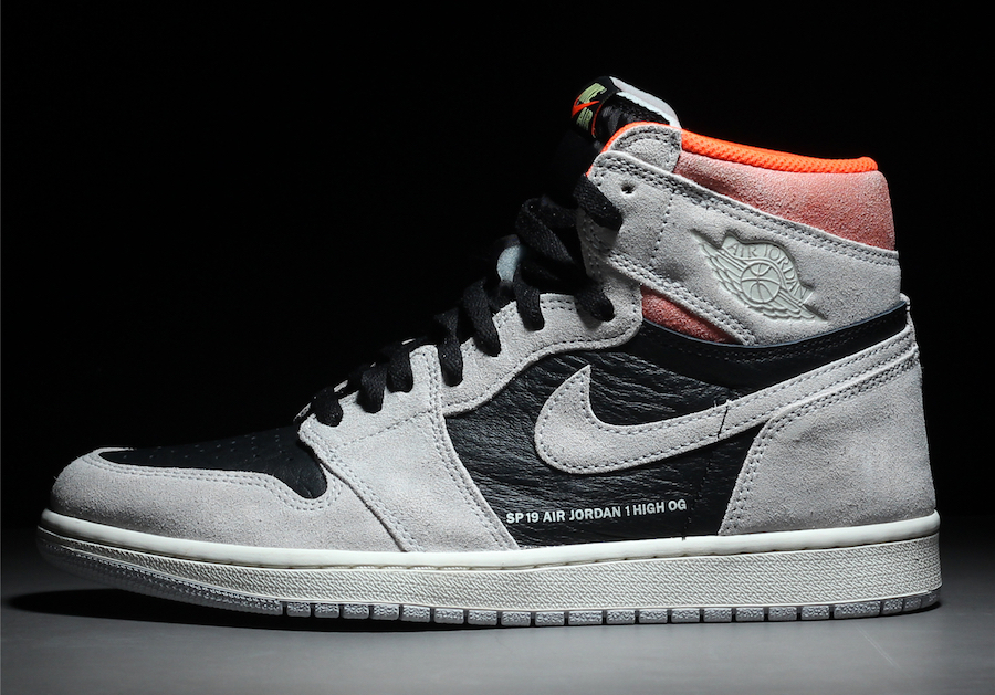 Air Jordan 1 OG Neutral Grey Hyper Crimson January Release Date