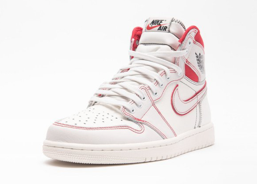 Air Jordan 1 Sail University Red 555088-160 Release Date