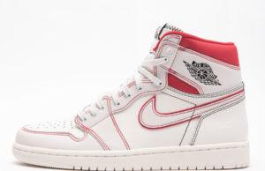Air Jordan 1 Sail University Red 555088-160 Release Date
