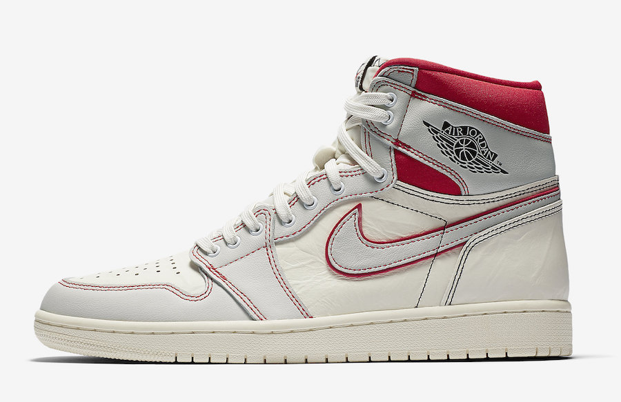 Air Jordan 1 Sail University Red 555088-160 Release Date Info