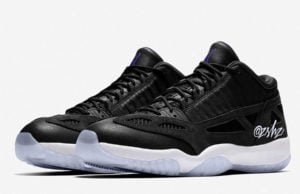 Air Jordan 11 Low IE Black White Concord 919712-041 Release Date