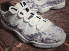 Air Jordan 11 Low Retro Snakeskin Light Bone CD6846-002 Release Date