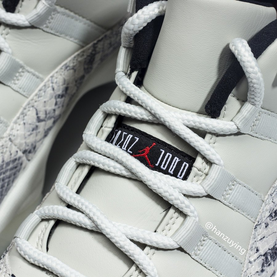 Air Jordan 11 Low Snakeskin Light Bone CD6846-002 2019 Release Date Price
