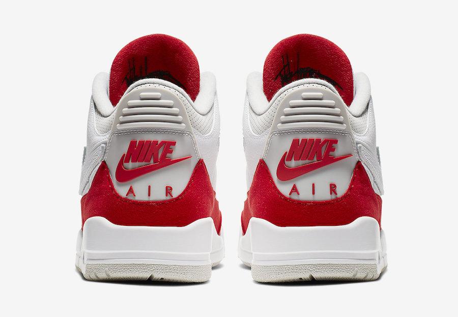 Air Jordan 3 Tinker White University Red CJ0939-100 Release Date Price