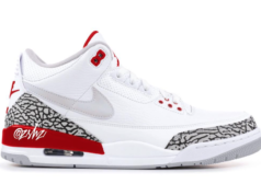 Air Jordan 3 Tinker White University Red CJ0939-100 Release Date
