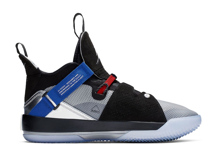 Air Jordan 33 All-Star Black Metallic Silver AQ8830-005 Release Date