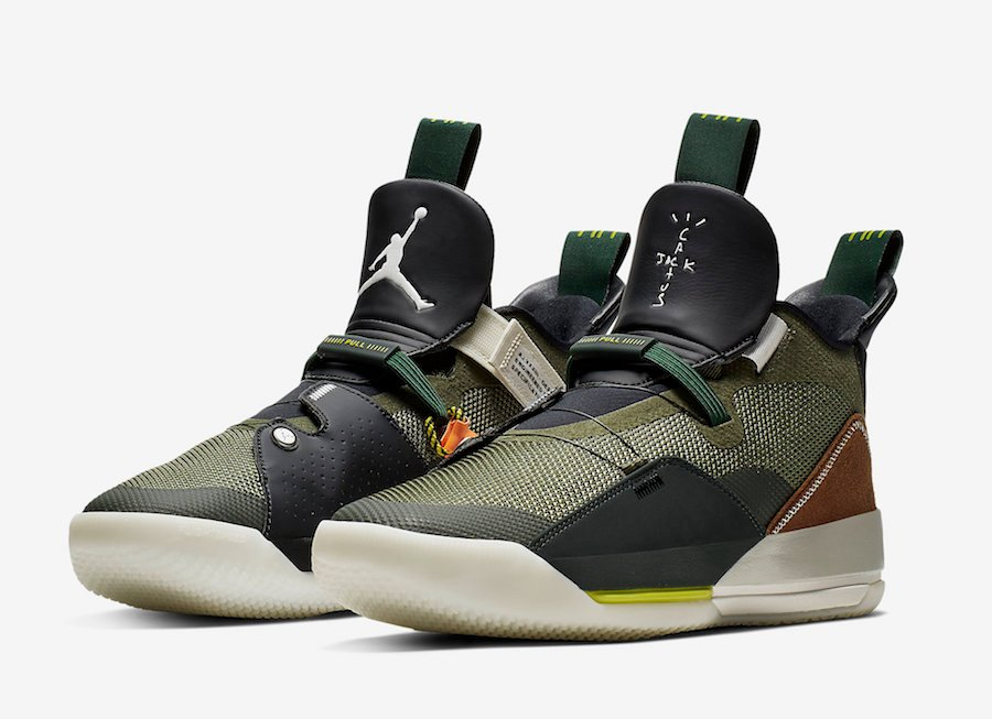 Air Jordan 33 Travis Scott CD5965-300 Release Date