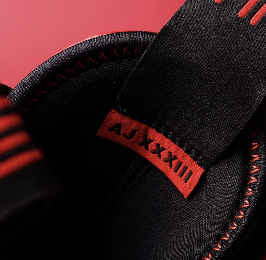Air Jordan 33 University Red AQ8830-600 Release Date