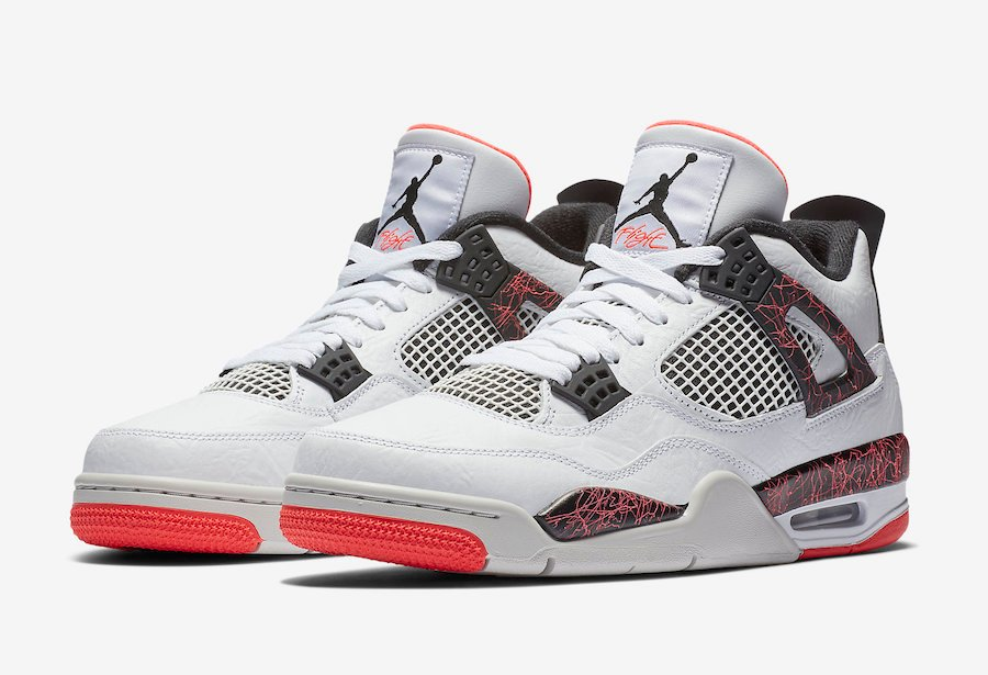 d872f1a2bf0 Air Jordan 4 Flight Nostalgia White Bright Crimson 308497-116 Release Date